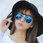Stylish SunGlasses Photo Editr
