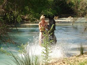 Photo: Un rinfrescante bagno nel fiume albegnaGirasole b&b saturnia terme agriturismo