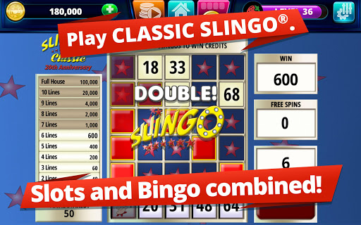 Slingo Arcade: Bingo Slots Game modavailable screenshots 12