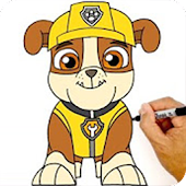 Learn to Draw Paw Patrol