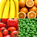 Fruit and Vegetables, Nuts & Berries: Picture-Quiz icon