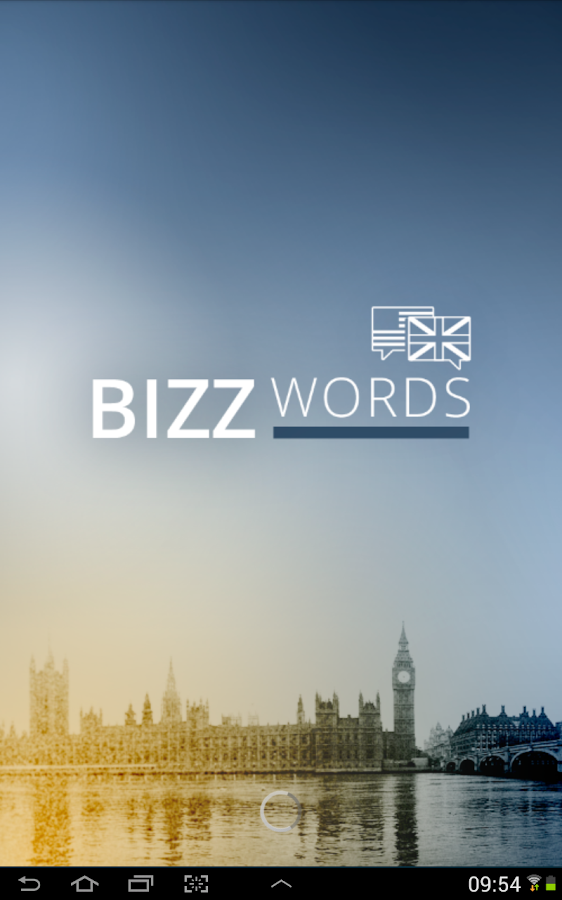 Bizzwords Business English – Capture d'écran