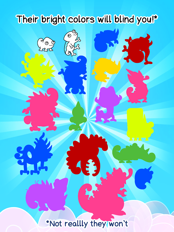 Screenshots of Chameleon Evolution - Clicker for iPhone