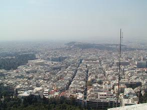 Photo: Athen, Blick vom Aussichtsberg Lykavittos