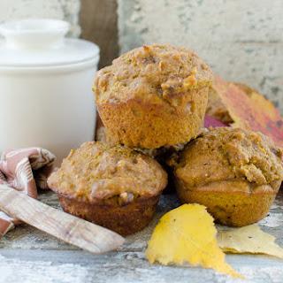 ~Pumpkin Nut Sourdough Muffins~