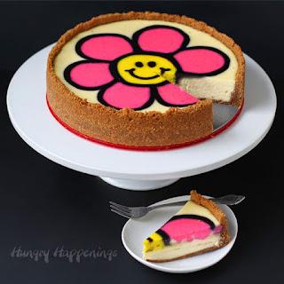 Decorated Daisy Cheesecake Recipe