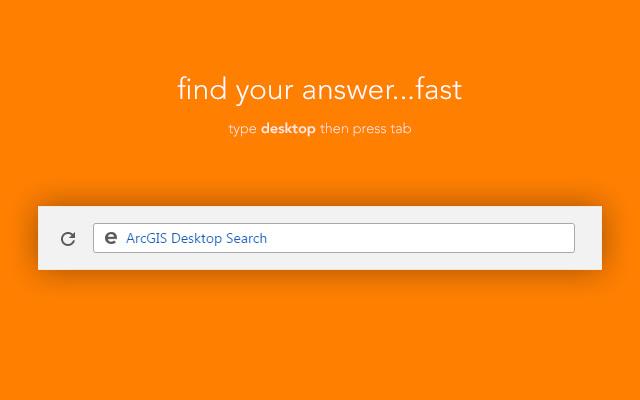 ArcGIS Desktop Search