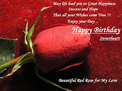 Happy Birthday Wishes For Wife ~ Happy birthday images for wife apps on google play
