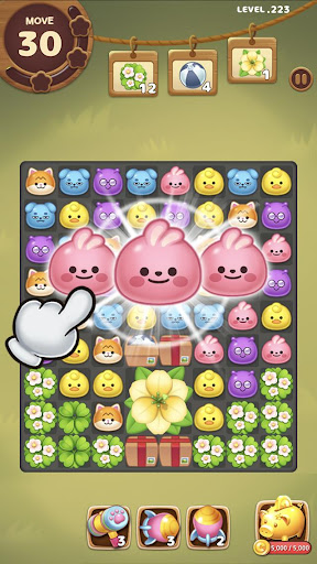 Candy Friends Forest : Match 3 Puzzle 1.1.4 screenshots 4