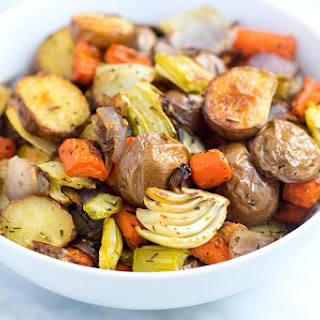 Our Favorite Oven Roasted Vegetables.