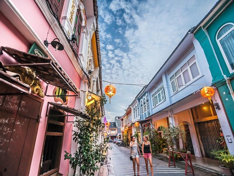 Old Town City, Phuket