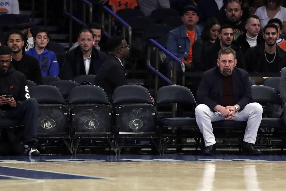 Knicks and Rangers owner Dolan tests positive for virus