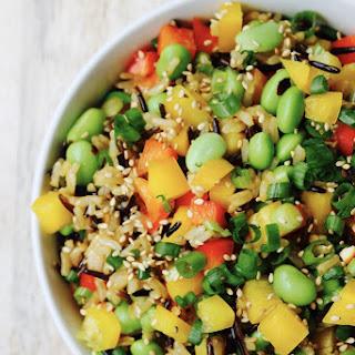 Wild Rice Salad with Edamame Recipe