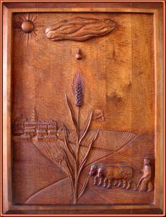 Castilla. Talla en madera