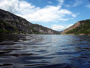 Photo: Sziklák közé szorul a Duna
