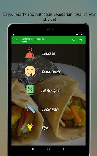 玩免費遊戲APP|下載Vegetarian Recipes SMART Book app不用錢|硬是要APP