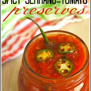 Spicy Serrano Tomato Preserves