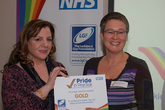 Photo: Staff from 'The Docs', a city centre practice that had acted as a guinea pig to help develop the system, received the very first 'Pride in Practice' award