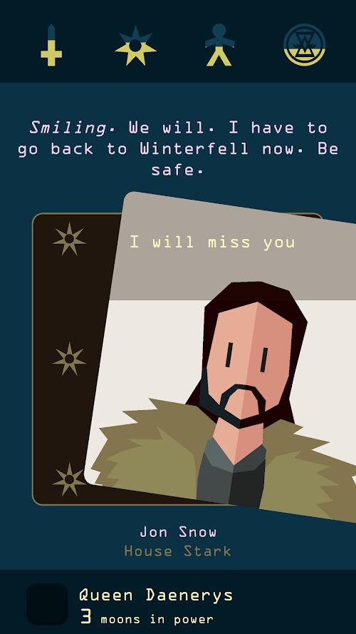 Screenshot 2 Reigns: Game of Thrones 1.0 APK MOD