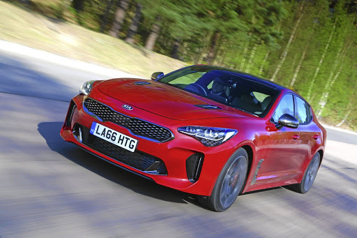 Kia has finally decided to bring its Stinger sports coupe to SA. Picture: NEWSPRESS UK