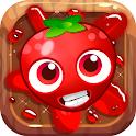 Tomatoes&fruit juice icon