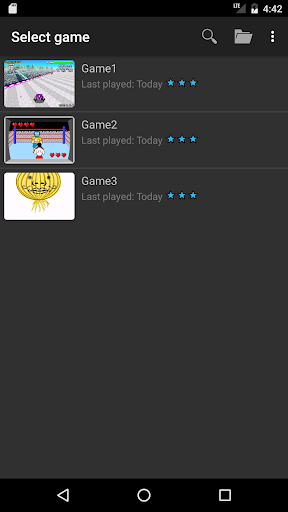 John GBA - GBA emulator  screenshots 4