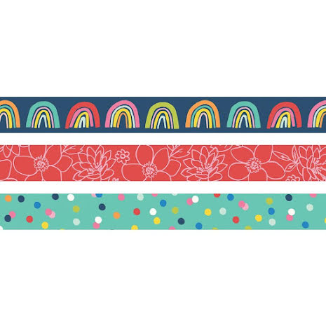 Simple Stories Washi Tape 3/Pkg - Sunkissed