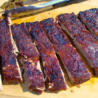 Cheater BBQ Oven Ribs.