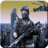 City sniper shooting 3D: City crime FPS game
