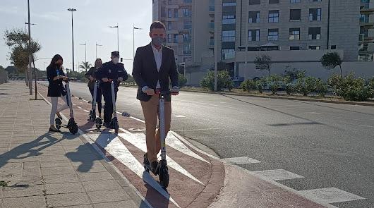 El Ayuntamiento descarta el servicio de alquiler de bicicletas y patinetes