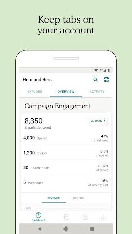 Mailchimp - Email, Marketing Automation Screenshot