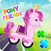 Pony Friends 🦄 - Beepzz racing game for kids