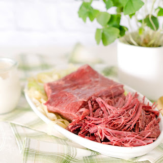 Low-Carb Keto Pressure Cooker Corned Beef Brisket.