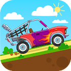 Kids race icon