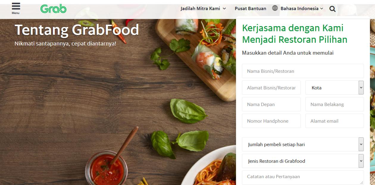 Cara Mendaftar Grabfood
