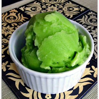 Lime Sorbet.