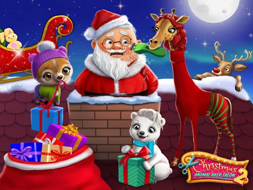 Christmas Animal Hair Salon 2 3.0.30001 screenshots 9