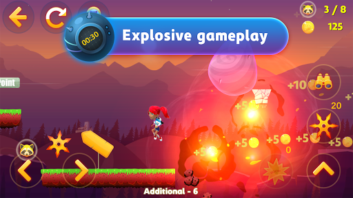 Télécharger Gratuit Tricky Liza: 2D Platformer Adventure Game APK MOD (Astuce) screenshots 1