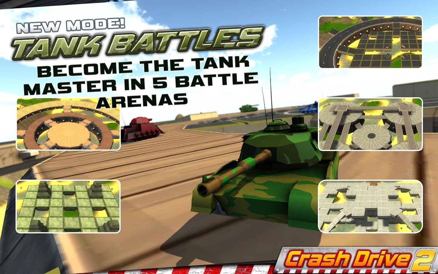 Crash Drive 2: car simulator- screenshot