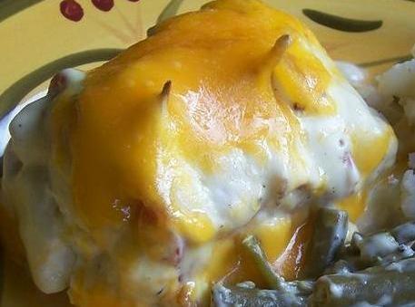 Bacon-wrapped Cream Cheese Chicken Breast Recipe