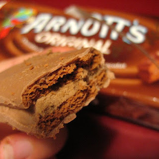 Tim Tam Slam Ice Cream.