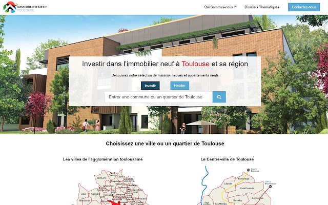 Programme immobilier neuf à Toulouse