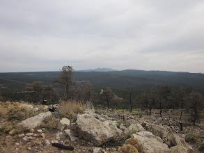 Photo: Distant mountains
