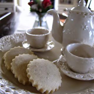 Vanilla Bean Tea Cookies