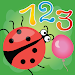 Learning numbers is funny. Toddlers learning games icon