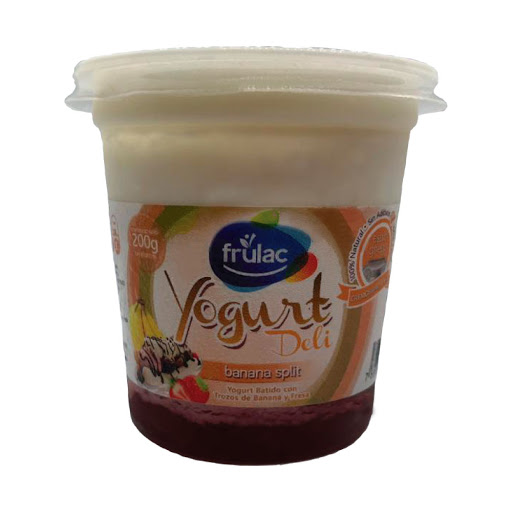 yogurt frulac griego banana split 200gr