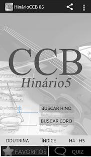 Hinário Virtual Nº 5 - CCB - screenshot thumbnail