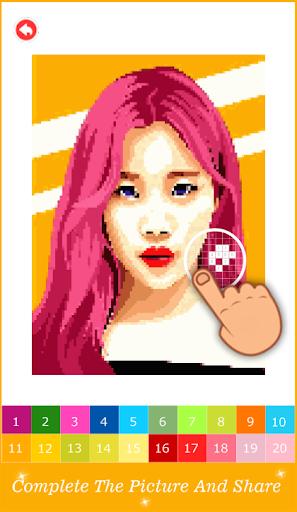 Pixel Art KPOP Color By Number 1.3 screenshots 6