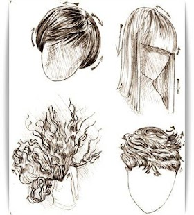 How To Draw Hair Android Apps On Google Play - Drawing a hairstyle