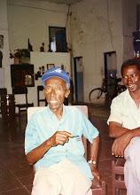 """Photo: """"Chan"""" dans le Foco de Los Hoyos - archives familiales Herrera Zapata"""
